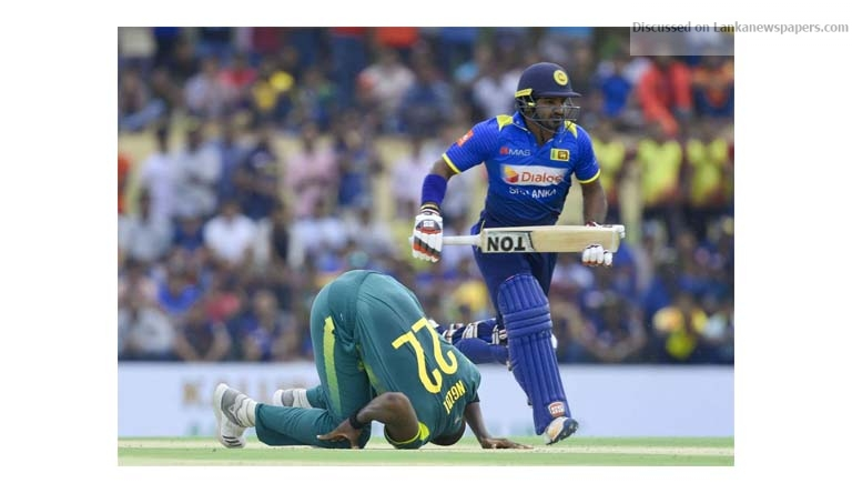 Sri Lanka News for Rabada, Shamsi set up South Africa's five-wicket win