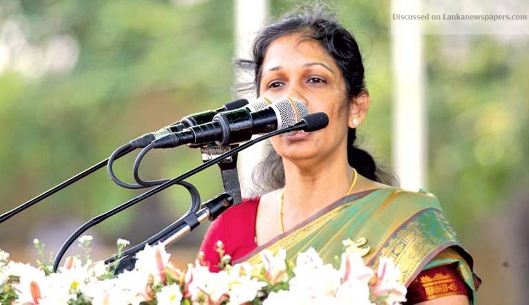 Sri Lanka News for Vijayakala under fire for LTTE remarks; hailed as hero in Jaffna