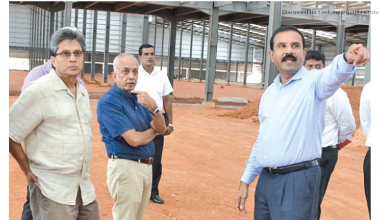 Sri Lanka News for CONSTRUCTION OF US$ 250 MN PLANT PROCEEDING RAPIDLY