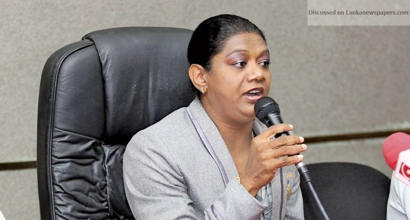 Sri Lanka News for Susanthika showers praise on Sports Minister