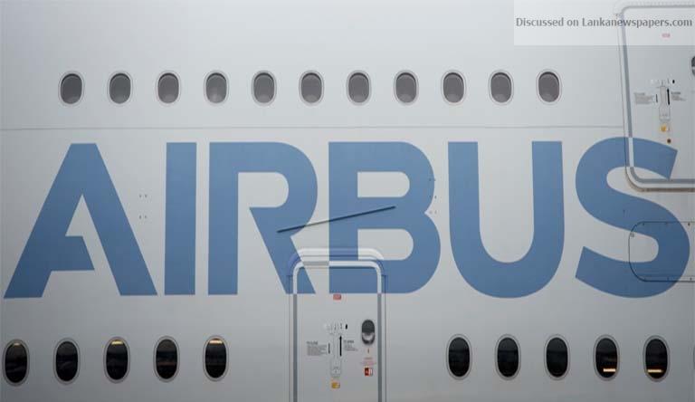 airbus in sri lankan news