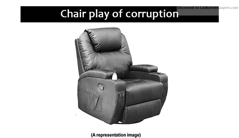 Sri Lanka News for Chair play of corruption.