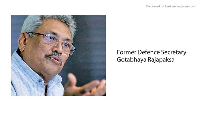 Sri Lanka News for Gota under probe by SriLankan commission