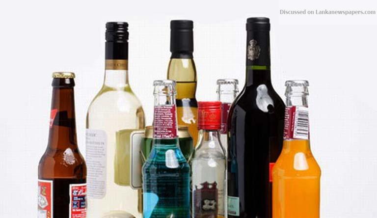 liquor in sri lankan news