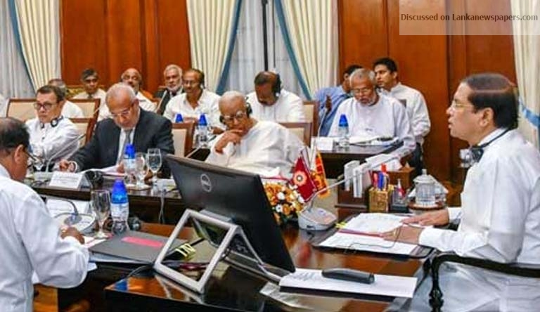 Sri Lanka News for No discrimination in development of country – President