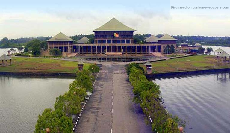 Sri Lanka News for MAIN PARTIES TO VOTE AGAINST DELIMITATION REPORT