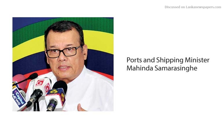 Sri Lanka News for Ports Ministry to present Cabinet paper on ECT development