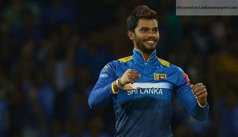 Sri Lanka News for Dinesh Chandimal guides Sri Lanka home in low-scoring thriller