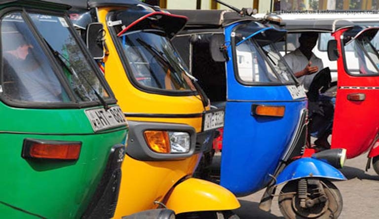 Sri Lanka News for Regulatory Commission for three-wheelers to be appointed