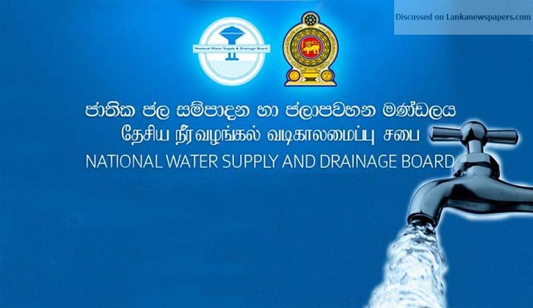 Sri Lanka News for WATER TARIFF INCREASE SOON – State Minister