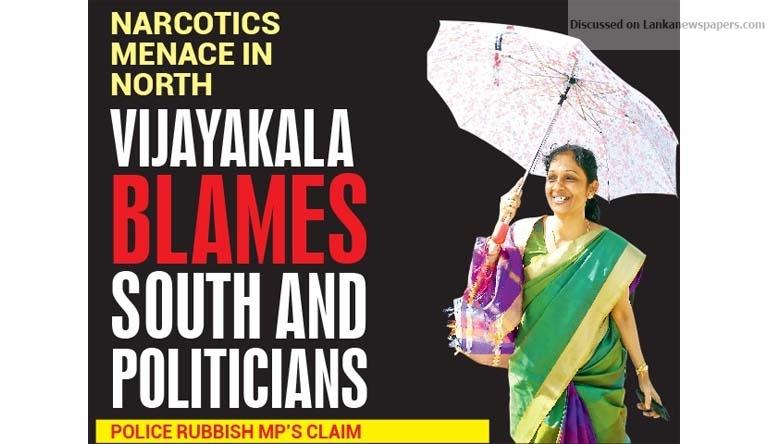 Sri Lanka News for Vijayakala blames South and politicians