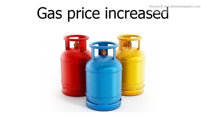 Sri Lanka News for Gas price increased