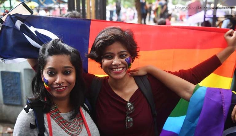 Sri Lanka News for India lifting gay sex ban GoSL wants formal request to consider legal reform