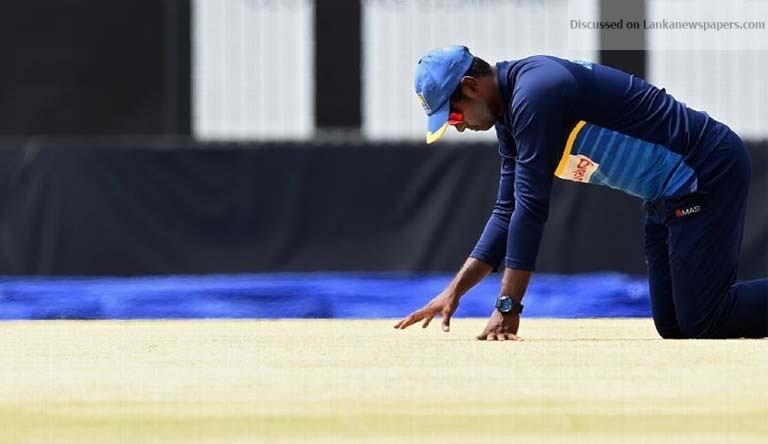 Sri Lanka News for Angelo Mathews' poor running in focus after axe from ODI squad