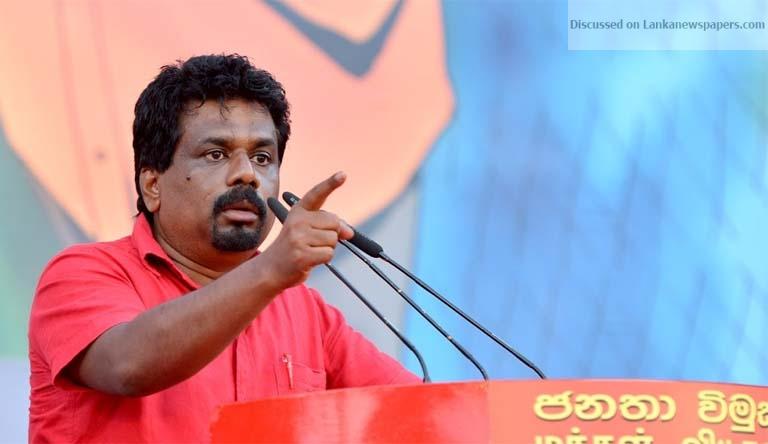 Sri Lanka News for TT wedding, proof of misuse of public funds – JVP