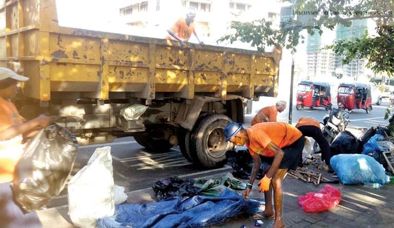dump in sri lankan news