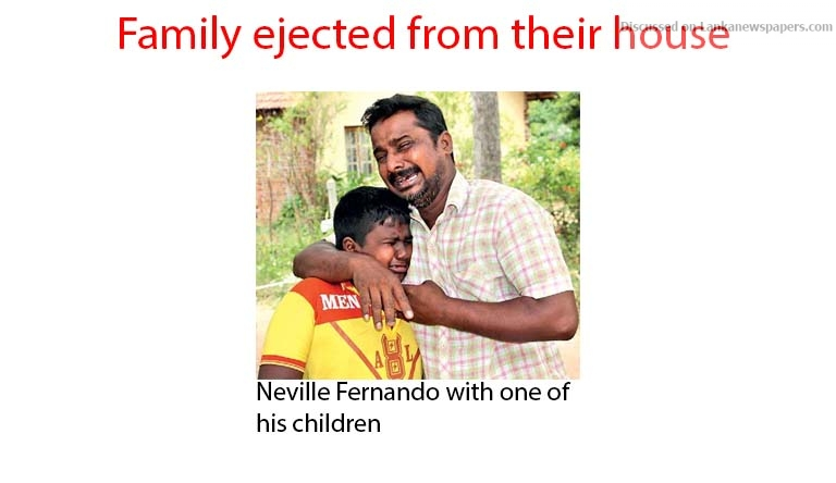 Sri Lanka News for Family ejected from their house