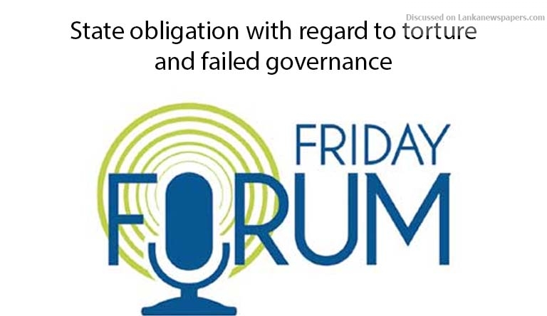 forum in sri lankan news