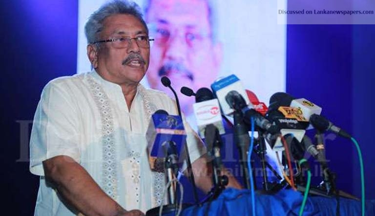 Sri Lanka News for Ex-military officers' diplomatic service more immense than others: Gota