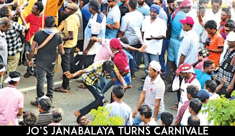 Sri Lanka News for Jo's Janabalaya turns carnivale
