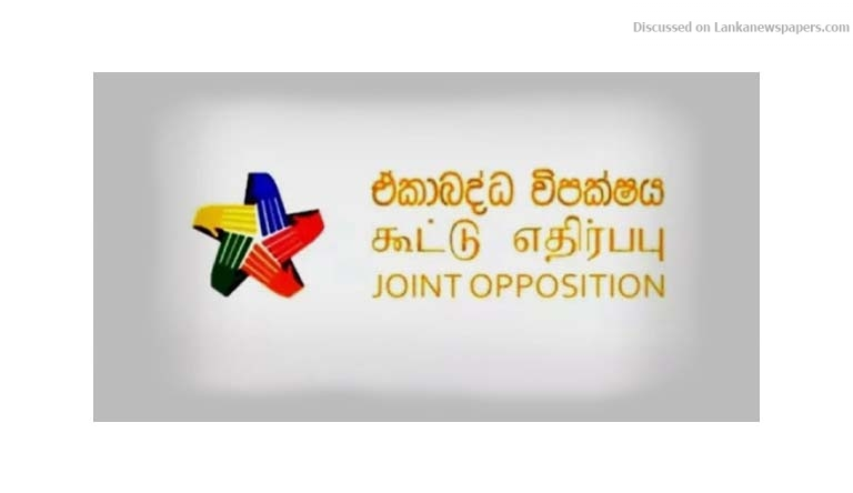 Sri Lanka News for JO to replicate 'Janabalaya' in Kandy and other districts