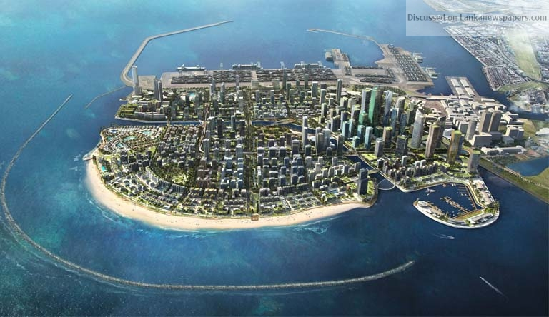 Sri Lanka News for Sri Lanka is building a $15 billion metropolis meant to rival cities like Hong Kong and Dubai