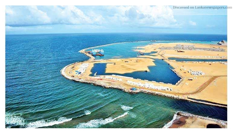 Sri Lanka News for $ 1 b Colombo financial city to kick off in Oct.