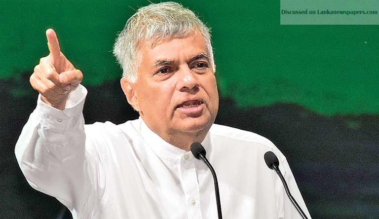 Sri Lanka News for COME ENJOY FREEDOM, PM TELLS JO
