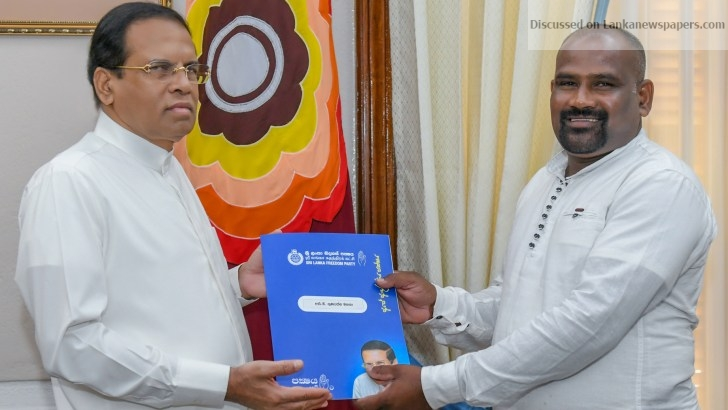 Sri Lanka News for Two new organizers for SLFP