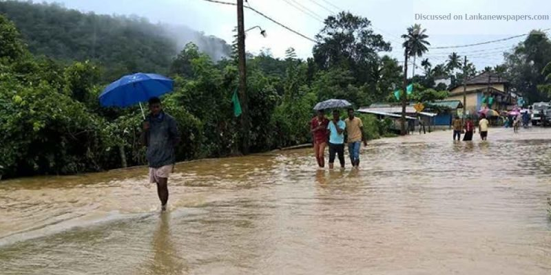 Sri Lanka News for 12,453 persons relocated due to bad weather