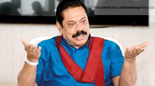 Sri Lanka News for Didn't hold any meetings with President – Mahinda