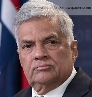 16THRANILWICKREMESINGHE in sri lankan news