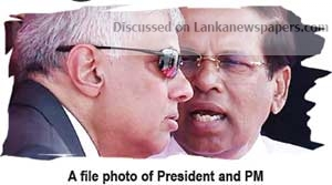 Sri Lanka News for Prez, PM in heated argument over East Terminal