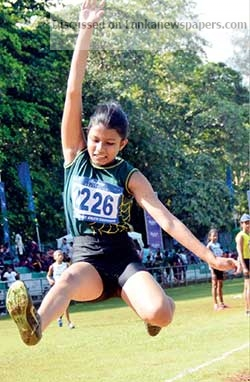 Sri Lanka News for Sandamini breaks second long jump record within a month