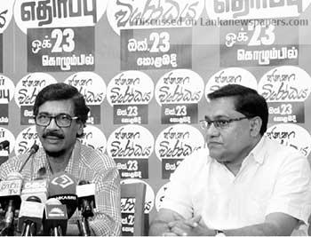 Sri Lanka News for JVP to launch protest against govt.