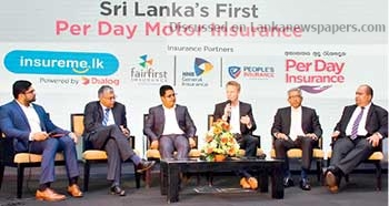 Sri Lanka News for Dialog partners to launch per day motor insurance starting from Rs.125