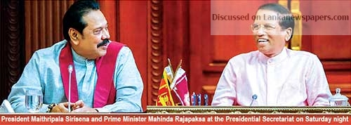 Sri Lanka News for President: 'Assassination plot prompted me to appoint MR PM' Address to the nation