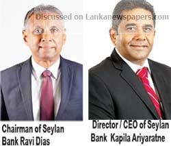 Sri Lanka News for Seylan Bank records PAT of Rs. 3.1 billion in 3Q 2018