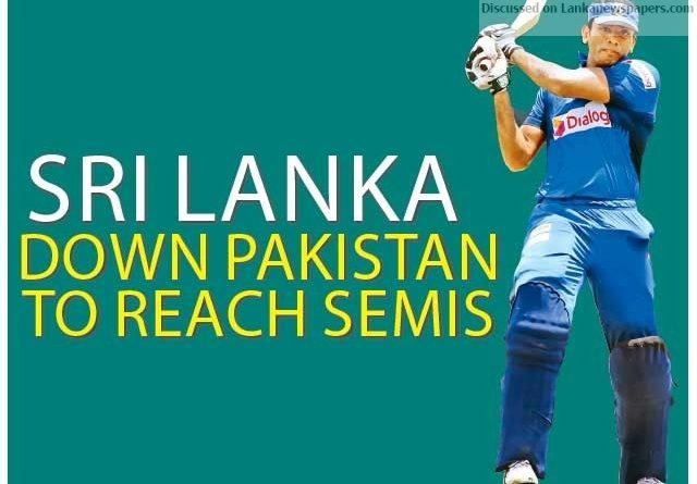 Sri Lanka News for Sri Lanka down Pakistan to reach semis