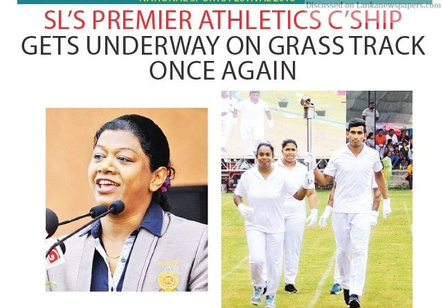 Sri Lanka News for SL's premier Athletics C'ship gets underway on grass track once again