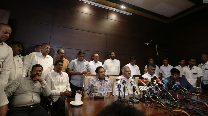 Sri Lanka News for Ranil urges President to re-convene Parliament to show majority