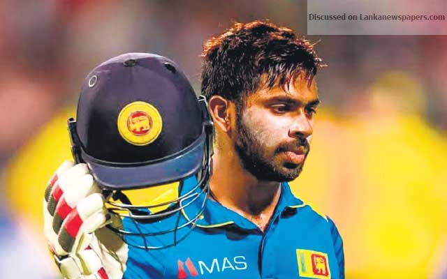 Sri Lanka News for You can't win a 21-over match with 150 on the board' – Niroshan Dickwella