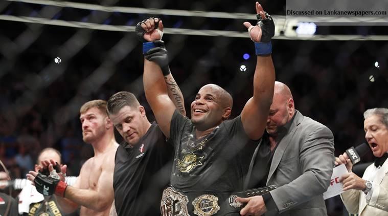 Sri Lanka News for UFC 230: Heavyweight champion Daniel Cormier set to defend against Derrick Lewis