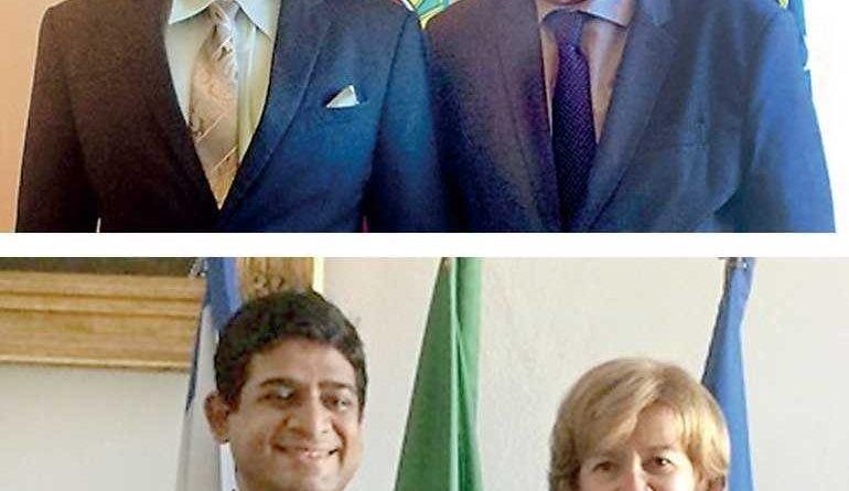 Sri Lanka News for Foreign Affairs State Minister Vasantha Senanayake visits Portugal