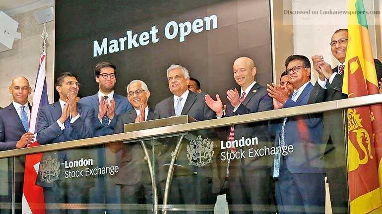 Sri Lanka News for Ranil kicks off trading at London Stock Exchange