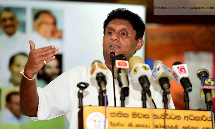 Sri Lanka News for PRESIDENT WILL NOT ALLOW THE RETURN OF STATE TERROR – SAJITH