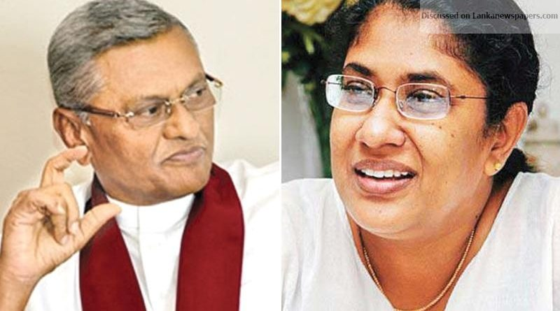 Sri Lanka News for Thalatha, Chamal to Constitutional Council?
