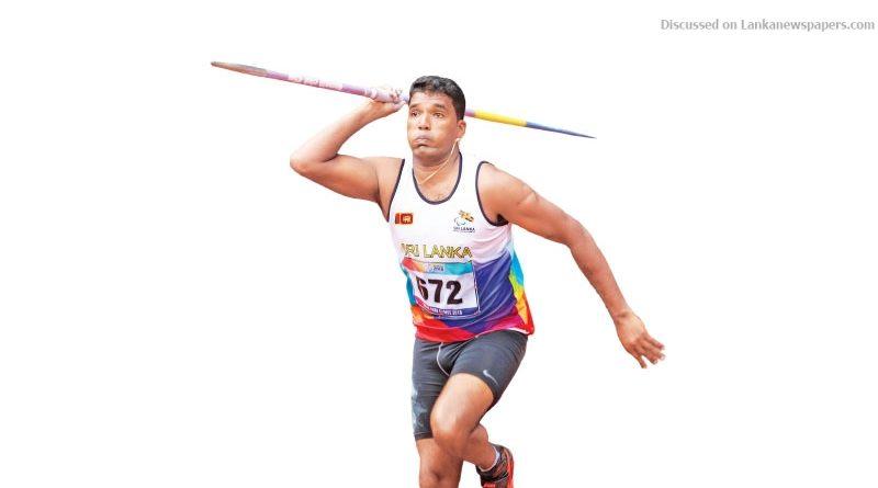 Sri Lanka News for Dinesh Priyantha creates record in Javelin Throw