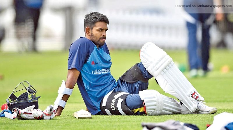 Sri Lanka News for Thirimanne to lead Board XI against England