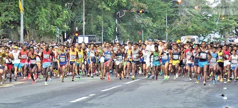 Sri Lanka News for 44 countries contest biggest Colombo Marathon
